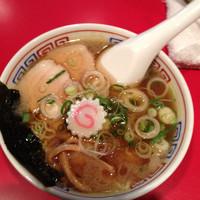 「ミニ気仙沼ラーメン醤油味  550円」@かもめ食堂の写真