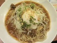 「四川式汁なし冷やし坦々麺 628円」@バーミヤン 青梅河辺店の写真