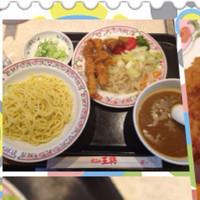 「トンカツカレーつけ麺」@餃子の王将 熊谷駅東口店の写真