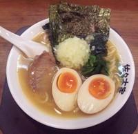 「味玉のせらーめん(小):680円」@佐々木家 秋田本店の写真