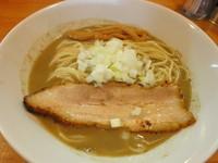 「特濃煮干ソバ(白ダレ) 760円」@煮干中華ソバ イチカワの写真