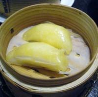 「黄金海老蒸し餃子」@熱烈タンタン麺 五味五香の写真