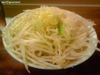 「ラーメンポン酢ニンニク乗せ(800円)」@ラーメン凛 砂町店の写真