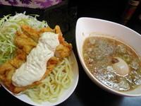 「インチキつけ麺880円+タルタル50円+味玉(クーポン)」@ラッキー食堂 まとやの写真