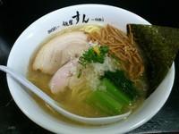 「中華そば(塩)+ランチミニ丼 700+100=800円」@麺屋 すんの写真