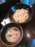 「鶏塩つけ麺(中盛)600円」@らーめん 玉彦の写真