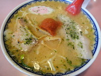「赤湯からみそらーめん 780円」@龍上海 米沢店の写真