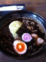 「焦がし味噌らーめん(麺大盛り)810円HPクーポン10%引き」@銀座 五行の写真