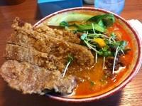 「パーコー坦々麺【800円】」@四川屋台の写真