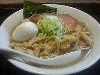 「煮干しらーめん (塩)¥178+全部のせ¥350+etc…」@麺堂 稲葉の写真