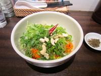 「麻辣汁なし担々麺」@香家 三田店の写真