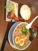 「肉そば」@丸源ラーメン 月見町店の写真