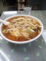 「元祖三生碼麺(サンマー麺)大盛り900円」@栄来軒 NOWの写真