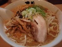 「市川味噌魂麺(800円)大盛(100円)」@魂麺の写真