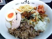 「【夏季限定】韓辛バリヤス冷麺¥800」@麺屋 すんの写真