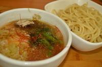「梅塩つけ麺 750円」@麺や 蒼空の写真