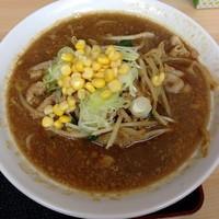 「味噌ラーメン(ネギ飯 ドリンク付)500円」@麺処 味丸の写真