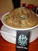 「スタミナ豚様ラーメン700円」@豚系ラーメン 豚神様の写真