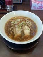 「入善ブラウンラーメン」@中国麺飯店 王虎の写真