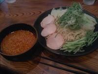 「廣島つけ麺、特盛、辛さ10」@廣島つけ麺本舗 ばくだん屋 本店の写真