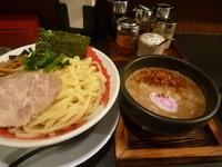 「エビ辛つけ麺」@一番舎 北店の写真