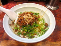 「汁なし担々麺」@元祖担々麺屋 蒼龍唐玉堂 吉祥寺店の写真
