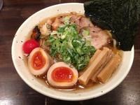 「特製冷しラーメン(極太麺ver) 930円」@ラーメン一心 本店の写真