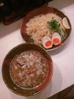 「つけ麺(正油)750円」@光 mituの写真