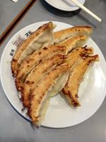「焼き餃子(8ケ) ¥1020」@銀座 天龍 本店の写真