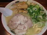 「メンマラーメン(600円)(硬め)」@長浜ラーメン はじめの写真