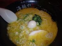「ディナーセット(ラーメン+半チャーハン+小鉢)(900円)他」@西新 海豚やの写真