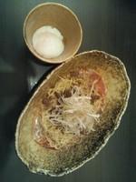 「担担麺(濃厚胡麻)(2辛)+温玉」@汁なし担担麺 武蔵坊の写真