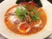 「えび味噌煮玉子ラーメン 1030円」@ラーメン一心 本店の写真