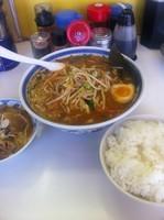 「味噌ラーメン」@ラーメン活力亭 長浦店の写真