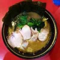 「チャーシューメン750円(カタメ)」@家系総本山 吉村家の写真