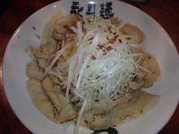 「あぶら麺+追っかけご飯(800円)+唐揚げ2ケ(200円)」@永斗麺の写真