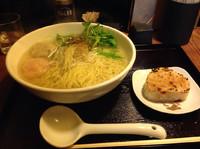 「あら炊き塩ラーメン」@麺屋 海神 吉祥寺店の写真