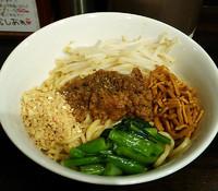 「汁なし担担麺¥850」@ほうきぼし+の写真