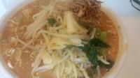 「赤味噌担々麺」@和風らーめん 金子の写真