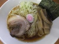 「【夏季限定】冷製たんぽぽラーメン(650円)」@魚介系ラーメン専門店 たんぽぽの写真
