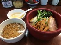 「つけ麺(純正ゴマ油)850円」@味噌一 三鷹店の写真