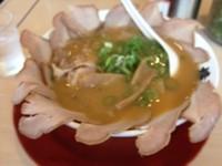 「チャーシュー麺」@ラーメン 横綱 南インター店の写真