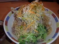 「牛の脂そば(800円)(冷)ハッシュドビーフ(150円)」@魂麺の写真