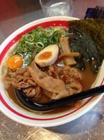 「ガチ徳ラーメン+バラ肉」@まる徳ラーメン 石津店の写真