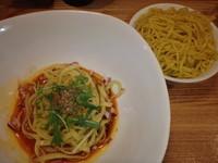 「スープ汁なし?担々麺(700円⇒350円)」@汁なし担々麺 麻沙羅の写真