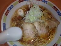 「稲庭冷がけ中華そば(880円)大盛(+100円)」@魂麺の写真