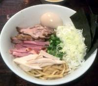 「(数量限定)汁なし鶏ソバ¥850」@ほうきぼし+の写真