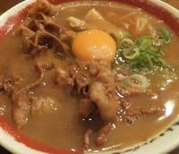 「肉入りラーメン」@ラーメン東大 沖浜店の写真