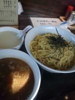 「つけ麺大盛り ¥830」@くりやらーめんの写真