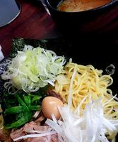 「つけ麺+葱(950円)」@麺場 ちゃっちゃかの写真